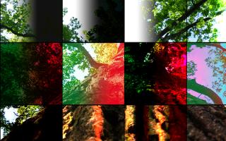 Режимы наложения Color Burn и Color Dodge