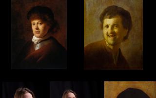 Рембрандт-освещение — классическая схема портретного освещения