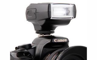Обзор вспышек для фотоаппаратов Canon