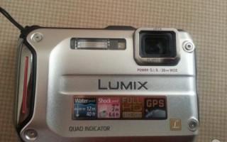LUMIX DMC-FT4 камера для активного отдыха