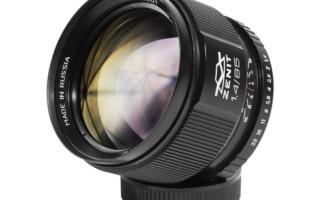 Тест-обзор объектива Зенитар 85 мм f/1.4