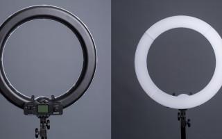 Как фотографировать с постоянным кольцевым светом. Нетрадиционные способы использования