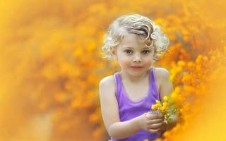 Как снимать портрет с яркими цветами без использования Photoshop. Урок по фотографии