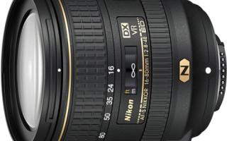 Топовые объективы компании Nikon