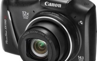 Canon PowerShot SX150 IS – просто и недорого