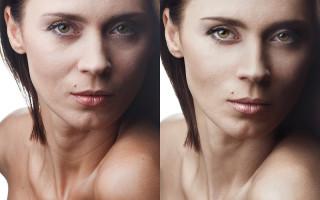 Подробно о портретной ретуши в Photoshop