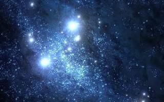 Звездное небо в Photoshop