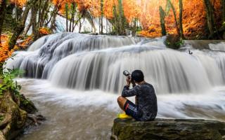 Как сделать красивые фотографии водопада