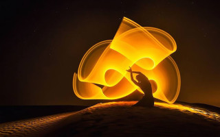 Freezelight — рисунок светом