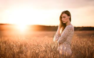 Как при помощи заката сделать хороший портрет. Урок по фотосъемке.