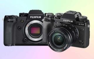 Сравнение Fujifilm X-H1 и X-T2