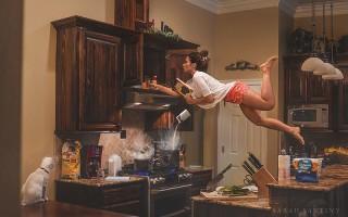 Как делать фото с левитацией. 7 советов