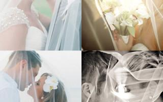 Свадебное фото: позирование
