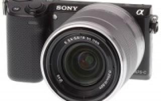 Обзор камер NEX-5R и NEX-6 — усовершенствованные беззеркалки