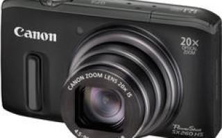 Обзор Canon PowerShot SX260HS