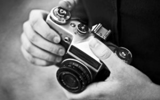 Съёмка черно-белых фотографий на цифровую камеру