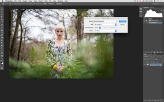 Как создать и применить винтажный эффект с помощью экшена в Фотошоп