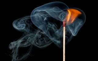 Как сфотографировать дым