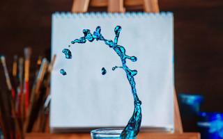 Ловкий трюк для создания фотографии с красивым всплеском
