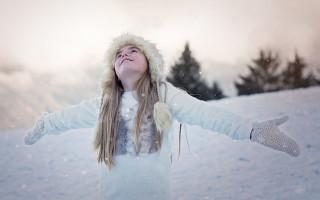 Обработка фото — цветокоррекция зимних фотографий