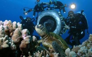 Как снимать под водой