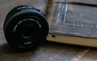 Обзор объектива Canon EF-S 24 мм f/2.8