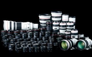 Расшифровка обозначений объективов Canon