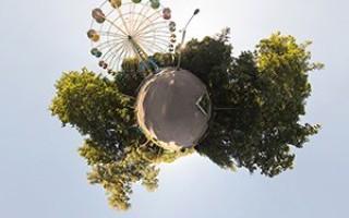 Создание сферической панорамы в фотошоп