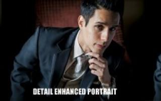 Обработка мужского портрета в Lightroom