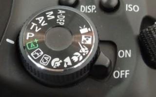 Использование ручного режима фотоаппарата