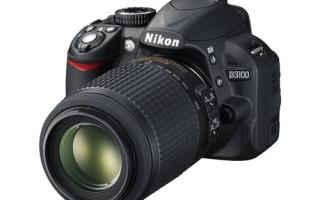 Новинка от Nikon. Зеркальная камера Nikon D3100
