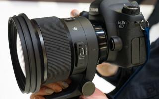 Первый взгляд на Sigma 105mm F1.4 ART и 70mm Macro