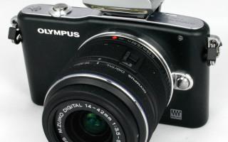 Olympus PEN E-PM1: технологии в стиле ретро