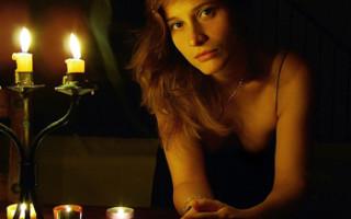 Cъемка при свечах